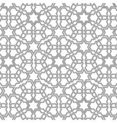Arabian delicate pattern vector image