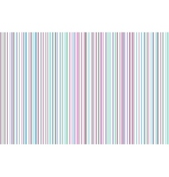 Slim colored stripes pastel colors predominance vector image