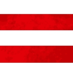 True proportions austria flag with texture vector