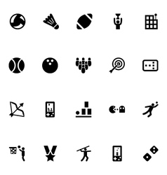 Video game icons 5 vector