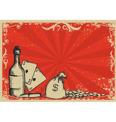 wealth passions vector image