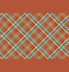 beige brown diagonal plaid pixeled seamless vector image vector image