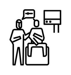 Continued lab examination icon symbol activity vector