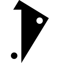 custom icon vector image