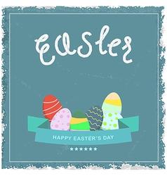 Easter egg eps10 vector image