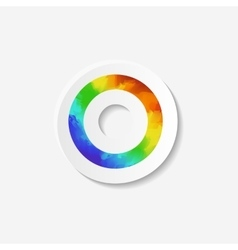 Gender identity icon Asexual symbol vector