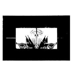 haiti 1923 vintage vector image