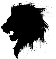 Lion head tattoo-4 vector