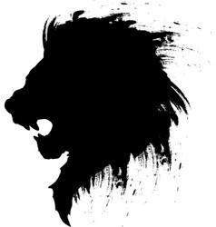 Lion head tattoo-4 vector