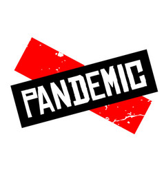 Pandemic attention sign vector