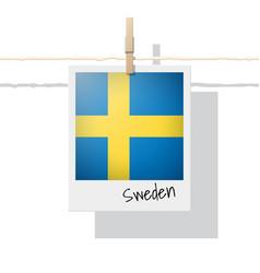 Photo sweden flag vector