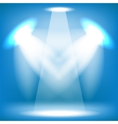 Stage Spotlight Background vector image vector image