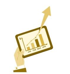 Business plan report vintage vector