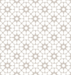 Abstract delicate seamless pattern with stylized vector image