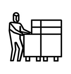 Deliver food icon symbol activity or to deal vector