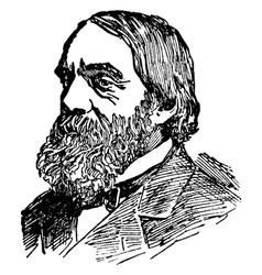 Edward everett hale vintage vector