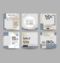 Instagram design template 02 vector