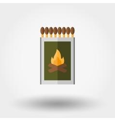 Match box icon vector