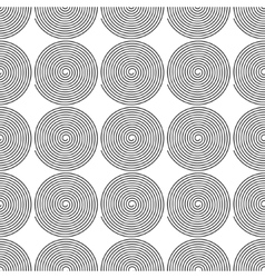 Monochrome abstract geometrical pattern vector image