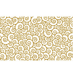 seamless pattern in oriental style chinese vector image