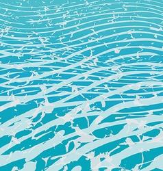 Waves sea vector image