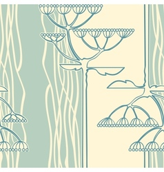 background from flower branch vector image