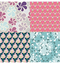 classic patterns vector image vector image