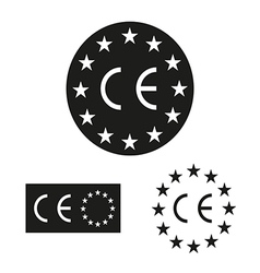Made in European Union labels vector image