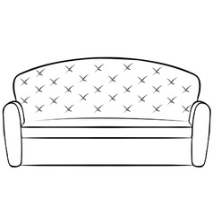Big sofa vector