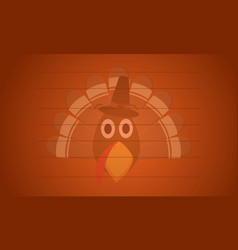 Greeting card thanksgiving theme collection vector