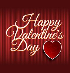 romantic festive valentine day romance vector image