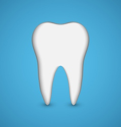 Tooth dental health concept vector