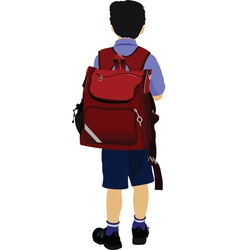 school kid vector image vector image