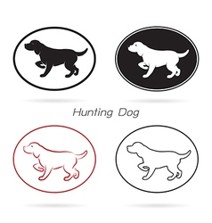 Dog Hunting vector image
