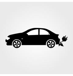 Eco car Eco auto vector image vector image