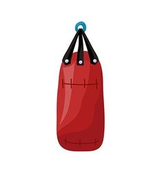 Punching Bag vector image
