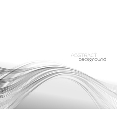 Abstract template background with curved wave vector
