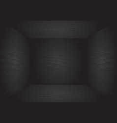 black circuit pattern room 3d design modern vector image