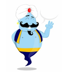 Cartoon Genie vector
