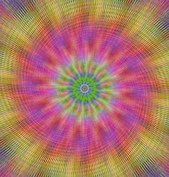 Colorful vibrant metallic abstract design vector