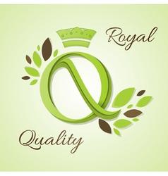 Royal quality vector
