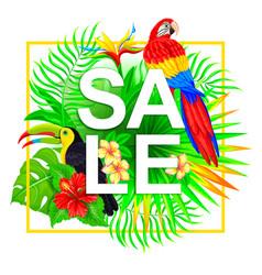 Sale tropical composition vector