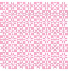 pink geometric pattern seamless vector image