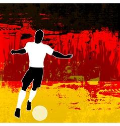 Football Germany vector image