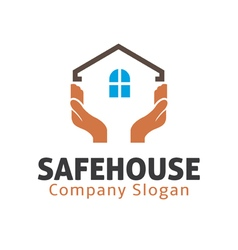 Safe House Design vector image