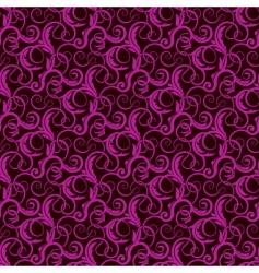 violet seamless wallpaper pattern vector image
