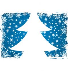 background snow vector image