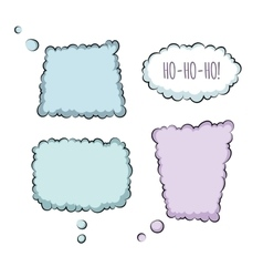 Bubbles Collection vector image