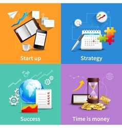 Business design concepts vector