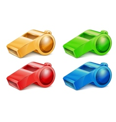 color whistles vector image